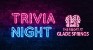 Trivia Night at The Resort at Glade Springs in WV