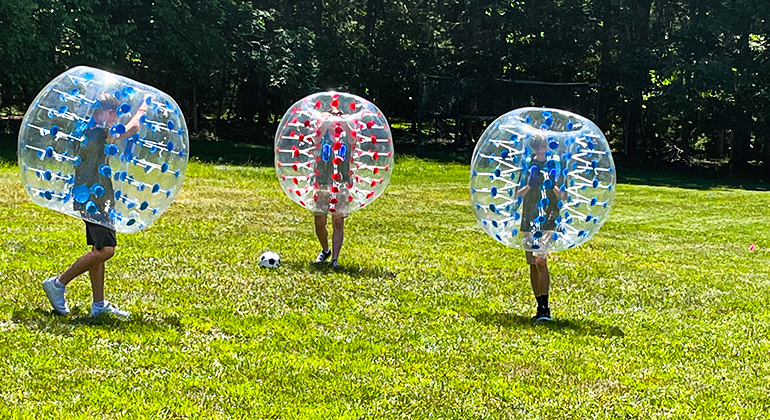 Bubble Soccer West Virginia at Glade Springs